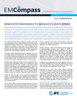 IFC EMCompass Short Brief Series on Climate Risk & Resilience