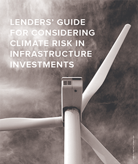 Lender's Guide for Considering Climate Risk in Infrastructure Investment
