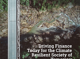 Driving Finance Today for the Climate Resilient Society of Tomorrow