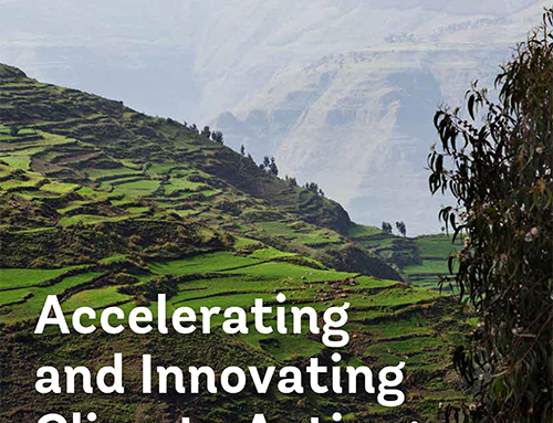 Accelerating and Innovating Climate Action