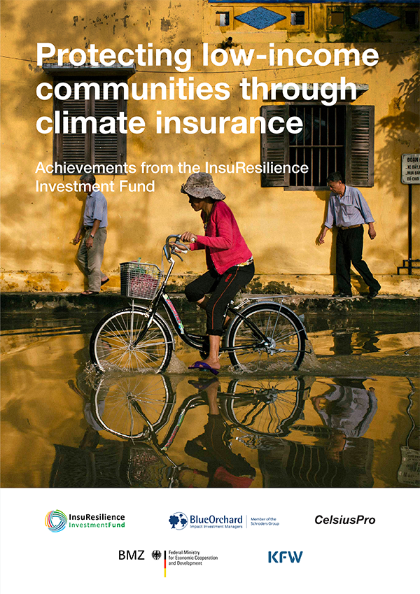 Protecting low-income communities through climate insurance