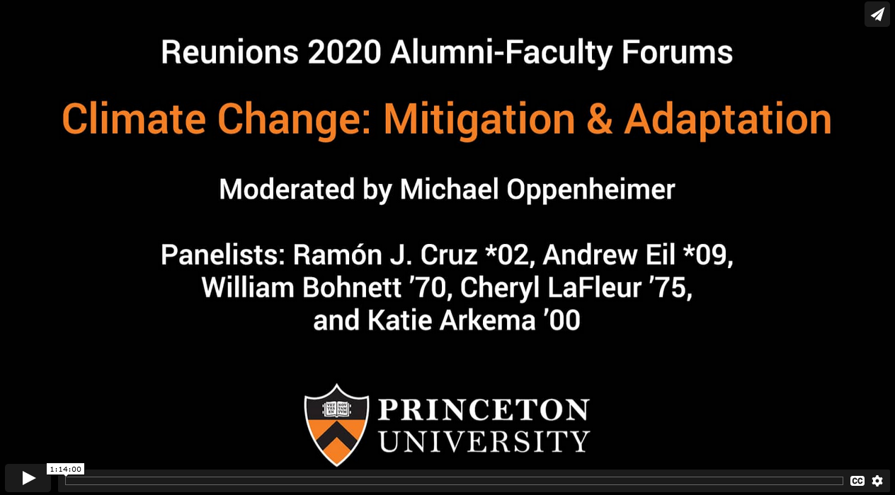 Climate Change: Mitigation and Adaptation.