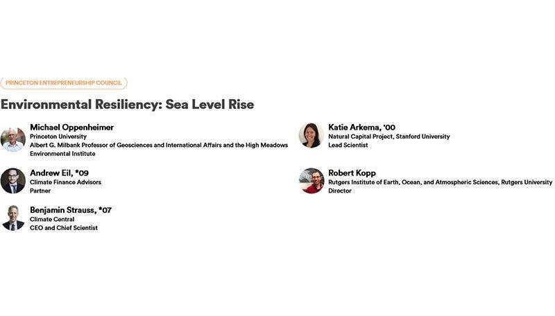 Environmental Resiliency: Sea Level Rise