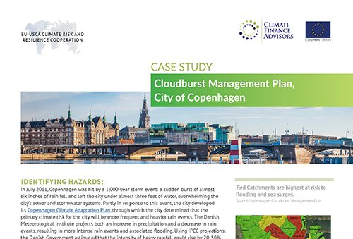 Case Study - Cloudburst Management Plan, City of Copenhagen