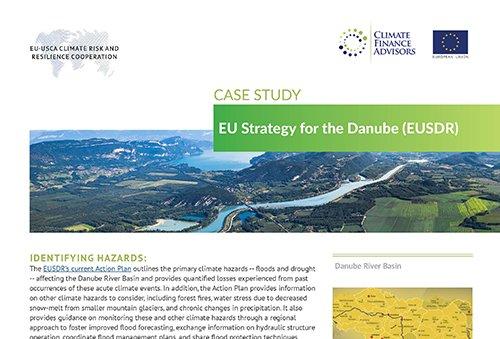 Case Study - EU Strategy for the Danube (EUSDR)