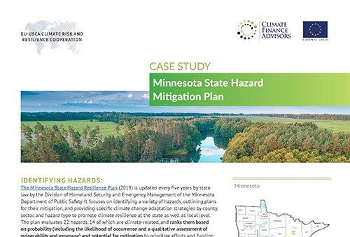 Case Study - Minnesota State Hazard Mitigation Plan