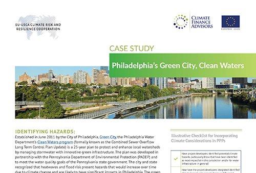 Case Study - Philadelphia's Green City, Clean Waters
