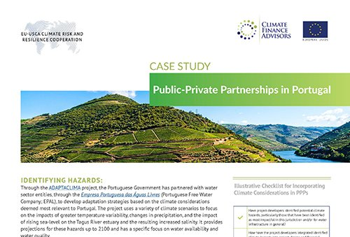 Case Study - Public-Private Partnerships in Portugal