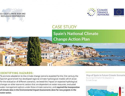 Spain's National Climate Change Action Plan