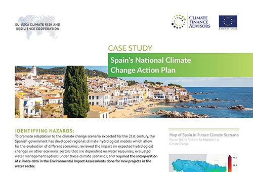 Case Study - Spain's National Climate Change Action Plan