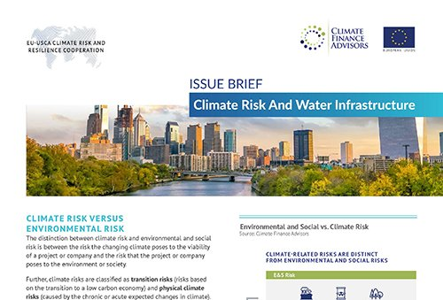 Climate Risk And Water Infrastructure